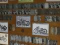 Výstava výrobních štítků ČS motocyklů Tomáše Musila