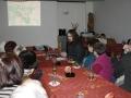 Přednáška dr. Tyče o historii obce Břehy