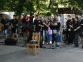 Kapela ZUŠ Přelouč Buď fit oslavila v autokempu Buňkov ve Břehách 10 let