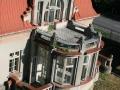 Výrovská vila u mlýnu ve Břehách krátce po její koupi obcí Břehy
