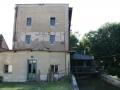 Výrovský mlýn ve Břehách krátce po jeho koupi obcí Břehy