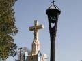 Boží muka se zvoničkou v Brlohu