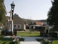 Boží muka se zvoničkou a pomník obětem 1 sv. války v Brlohu