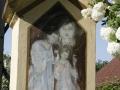 Boží muka s pamětní deskou obětem 1. světové války v Krasnicích