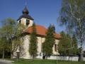 Kostel sv. Jana Nepomuckého v Lánech na Důlku