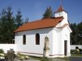 Hřbitovní kaple v Labských Chrčicích