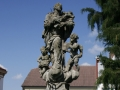 Socha sv. Jana Nepomuckého v Heřmanově Městci