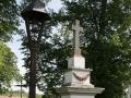 Boží muka se zvoničkou v Benešovicích