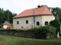 Kostel archanděla Michaela se zvonicí v Lepějovicích