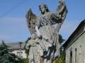 Socha Anděla Strážce v Rohovládově Bělé