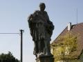 Socha sv. Jana Nepomuckého v Řečanech nad Labem