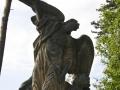 Socha Anděla Strážce u Kladrub