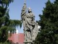 Socha sv. Václava v Heřmanově Městci