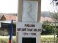 Pomník obětem 1. světové války v Brlohu