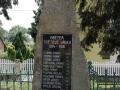 Pomník obětem 1. světové války v Černé u Bohdanče