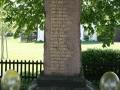 Pomník obětem 1. světové války ve Zdechovicích