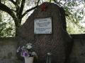 Válečný hrob vojáků Rudé armády