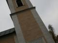 Pamětní deska Františka Veverky na Kostele Navštívení Panny Marie v Přelouči
