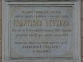 Pamětní deska Františka Veverky