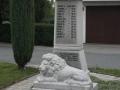 Památník obětí 1. světové války ve Veselí