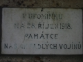 Pomník obětem 1. světové války v Újezdu