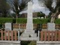 Pomník obětem světových válek a MUDr. J. Bartoňovi ve Stojicích