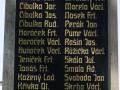 Pamětní deska obětí 1. světové války ve Starých Čívicích