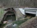 Aquadukt v Semíně - pohled na Sopřečský potok