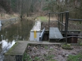 Aquadukt v Semíně - pohled na Opatovický kanál