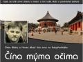 """Plakát na přednášku Honzy Musila """"Čína mýma očima"""""""