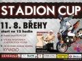 Plakát na Stadion cup 2012
