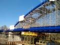 Stavba valského mostu